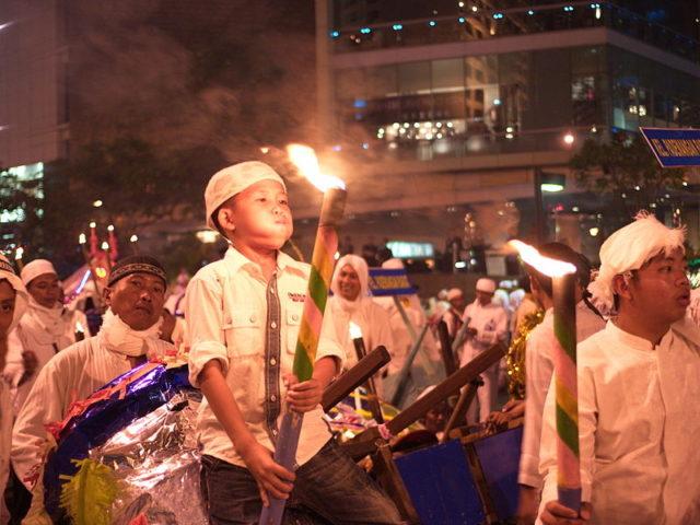Pawai_obor_Idul_Adha_Jakarta